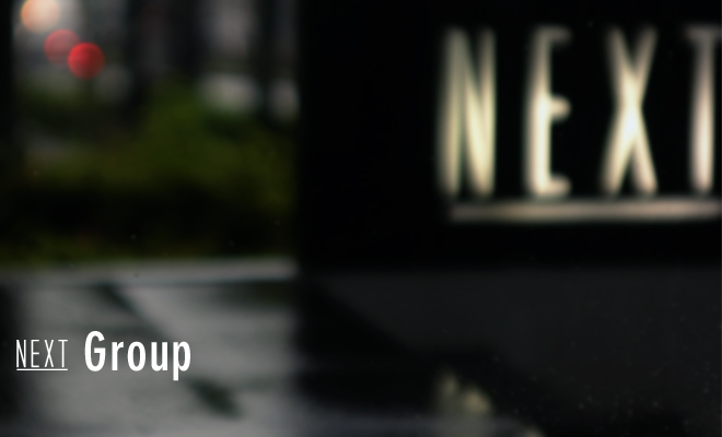 NEXT Group bannar