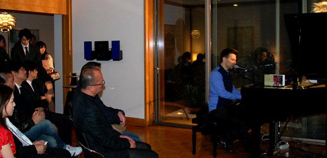 画像 特別ゲストとして迎えられたジャズシンガー BENNI CHAWS